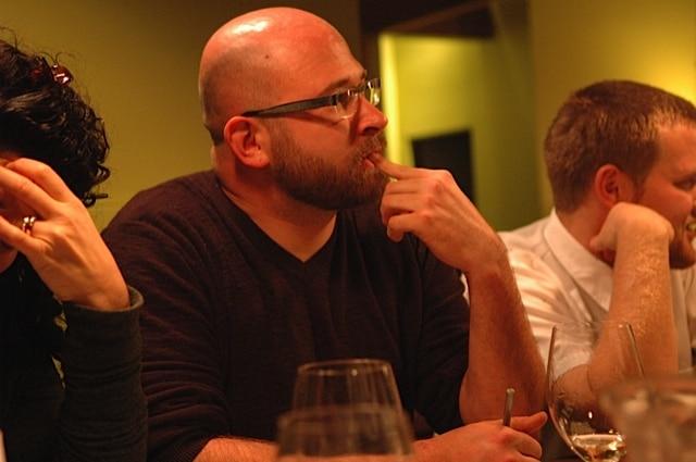 Brian at Tasting