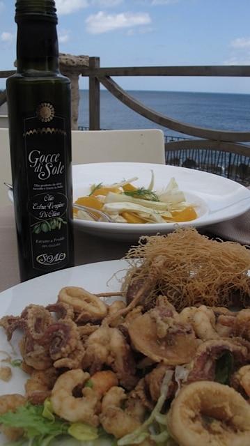 Calamari in Sicilia