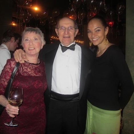 Carl, Roberta & Sarah on New Year's Eve