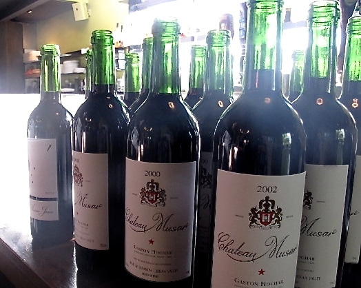 Chateau Musar Bottles