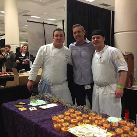 Chef Christian, Anthony & Jheremy