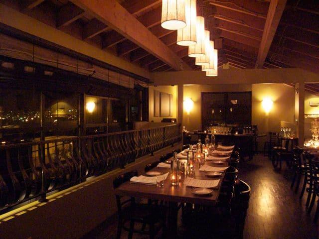 Mezzanine Set for Private Event