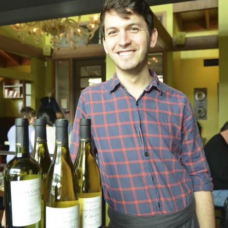 Josh with Wine Bottles