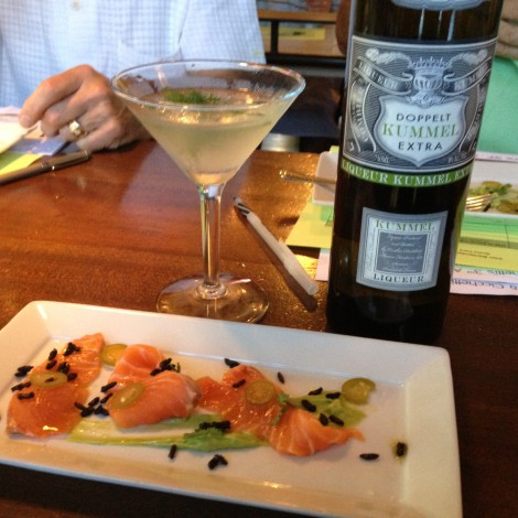 MacGregor Boswell's Drink & Food Pairing