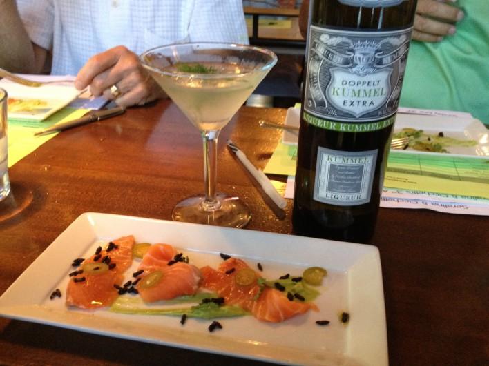 MacGregor Boswell's Drink & Food Pairing