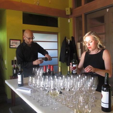 Sal & Cheryl at Wine Event