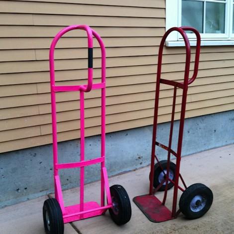 Sal & Cheryl's Wine Carts