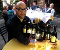 Sal at Wine Tasting