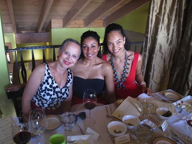 Susan, Sarah & Majd at Musar