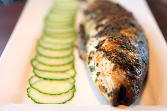 Whole-Roasted Fish