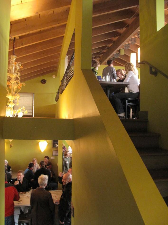 Partial View of Cicchetti Mezzanine