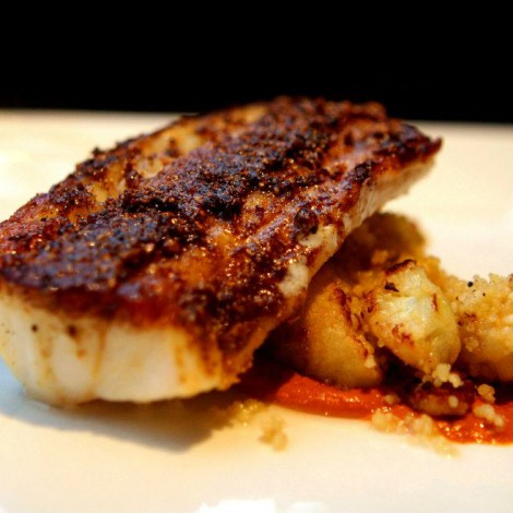 Ras el Hanout-Rubbed Cod with Cauliflower